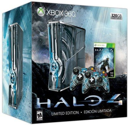 Slika Microsoft Xbox 360 320GB Halo 4 Limited Edition