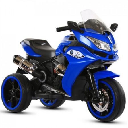 Slika Motor Veliki R1200 za decu na akumulator 6V - Plavi