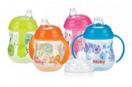 Nuby čaša PinPoint sa dve drške, 270ml ( 4150007 )