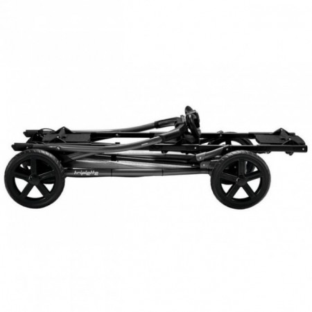 Peg Perego ram za kolica Triplette Jet srebrno crni ( P318505 )