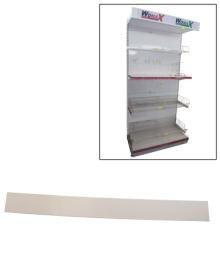 Slika Polica za prodavnice puna leđa 1200mm x 250mm ( 70140207f )