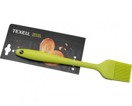 Slika Texell silikonska četkica 20.9cm zelena ( TS-C123Z )