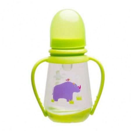 Akuku flašica PP 125 ml silikon ručke i plastično dno ( 0190170 )