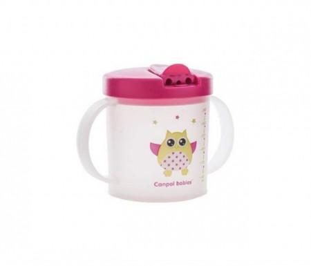 Canpol baby šolja flip top cup 190 ml 9m+ ( 31/212 )
