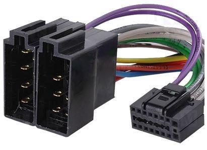 Slika Clarion ISO adapter ZRS-138 16 pin za auto radio ( 60-078 )