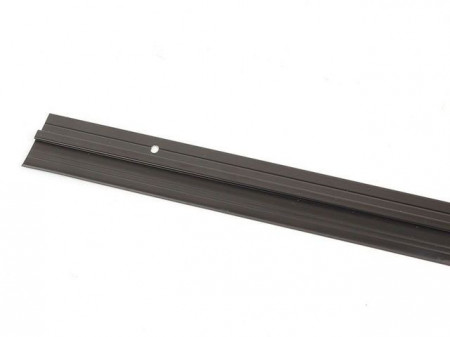 Slika Hausmax lajsna za vrata sa gumom 1000mm alu crna ( 0252539 )