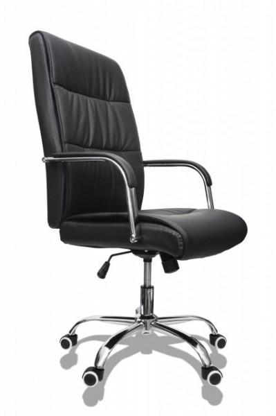 Slika Kancelarijska stolica FA-3002 od eko kože - Crna