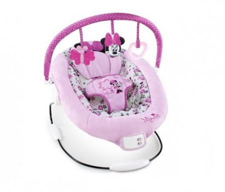 Kids II ljuljaška ležaljka Minnie Mouse garden delights bouncer 60578 ( SKU60578 )