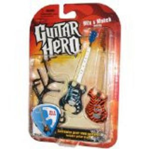 Slika Mcfarlane Toys Guitar Hero 2009 Mix & Match Guitars Feedback (Machine) & Frydaze (Tiger Stripes)