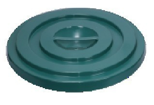 Slika Poklopac za kantu 100 l - zeleni