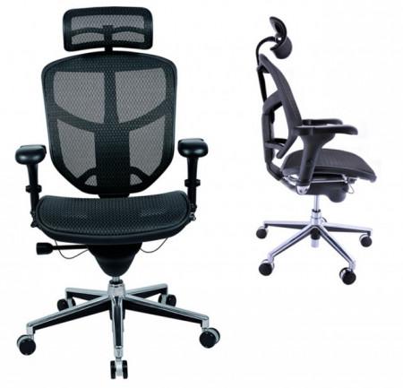 Slika Radna ergonomska stolica - Enjoy (mreža + mreža)