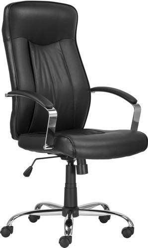 Slika Radna fotelja MONTGOMERY (eko koža crna)