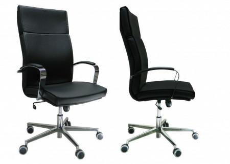 Slika Radna Fotelja visoka - Nero H (eko koža u više boja)