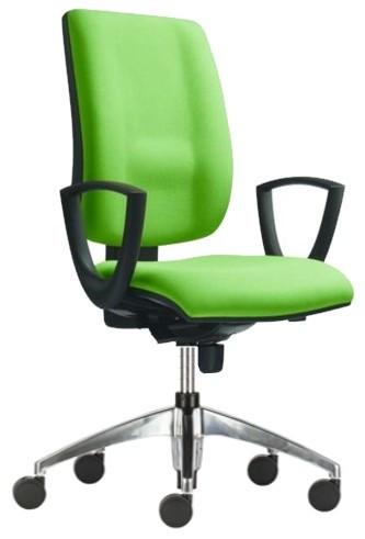 Slika Radna stolica - 1380 ASYN FLUTE LX ALU (štof u više boja)