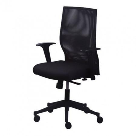 Slika Radna stolica - Boston 918 NET (mreža + eko koža u više boja)