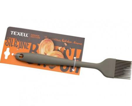 Slika Texell silikonska četkica 20.9cm siva ( TS-C123S )