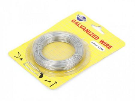 Slika Womax žica baštenska pocinkovana 0.9mm x 25m ( 0316529 )