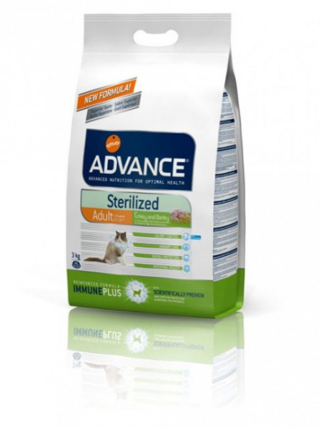 Advance Cat Sterilized Turkey 1.5kg Hrana za mačke ( AF577219 )