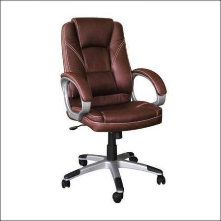 Kancelarijska fotelja 6158 Braon 650x710x1120(1220) mm ( 755-913 )
