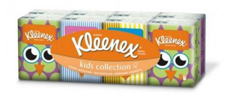 Slika Kleenex dečije papirne maramice pakovanje 8 x 7 komada ( 2080094 )