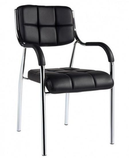 Slika Konferencijska stolica 05-1 od eko kože - Crna