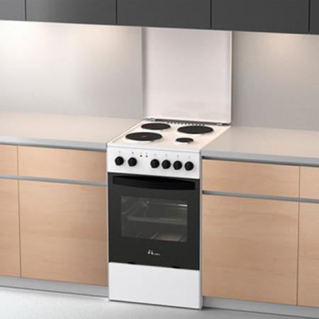 Slika MBS E 601 W2 elektro štednjak sa ventilatorom - beli