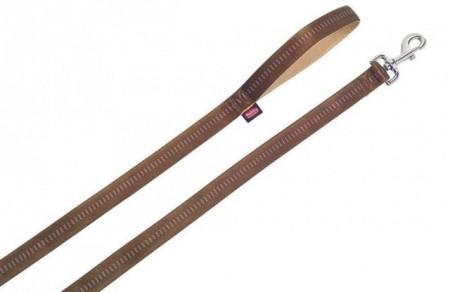 Nobby 78516-23 Povodac Soft grip 25mm, 120cm braon ( NB78516-23 )
