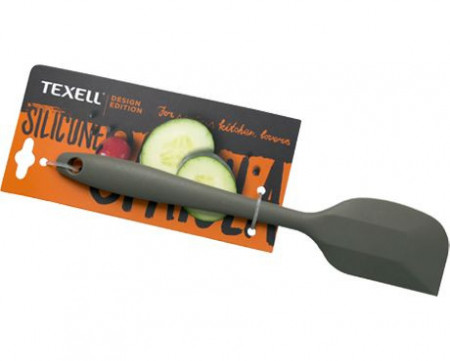 Slika Texell silikonska špatula mala 20.05cm siva ( TS-SM124S )