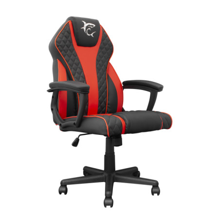 White shark PIRATE B/R black/red gaming chair