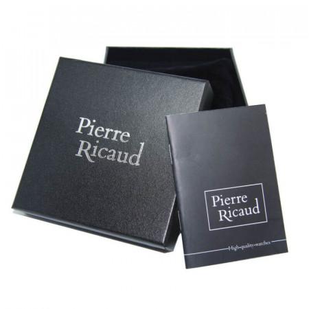 Ženski Pierre Ricaud Quartz Paper Tirkiz Zlatni Modni Ručni Sat Sa Zlatnim Metalnim Kaišem
