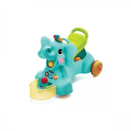 Slika B kids igračka za prohodavanje 3u1 slon ( 115154 )