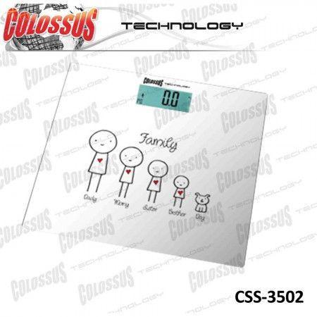 Slika Colossus CSS3502 telesna digitalna vaga ( 8606012415850 )
