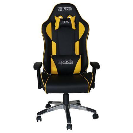 Slika Gaming Chair Spawn Champion Series Yellow ( CP-BY1G )