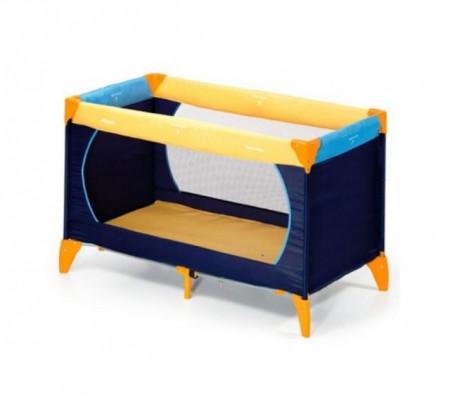 Hauck prenosivi krevetac Dream n play yellow blue navy ( 5010031 )