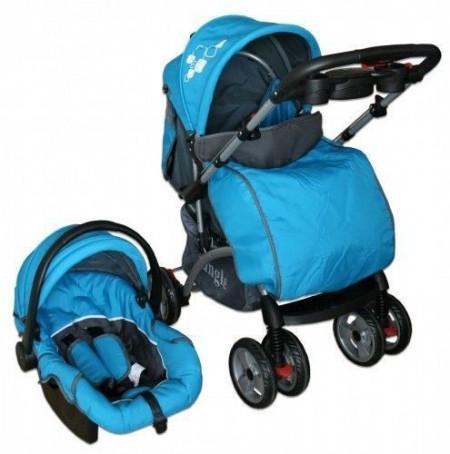 Jungle Dečija kolica sa sintezom - plava ( 012123 )