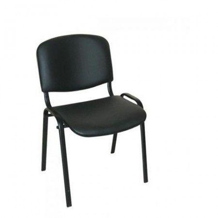 Slika Konferencijska stolica Iso black V14 eko koža