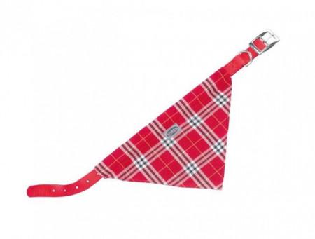 Nobby 78553-01 Ogrlica za pse sa maramom crvena 57cm, 25mm ( NB78553-01 )