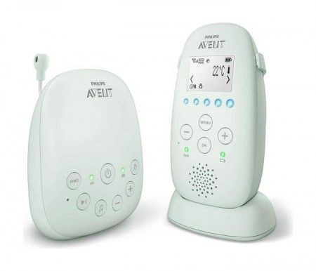 Slika Philips Bebi alarm dect monitor audio 9094 ( SCD721/26 )