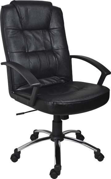 Slika Radna fotelja - LGA 68 CR (eko koža crna)