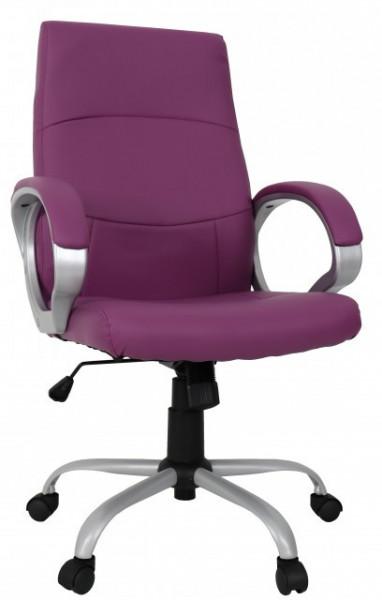 Slika Radna fotelja - Petersburg - Purple (eko koža)