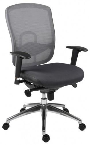 Slika Radna stolica - Oklahoma (mreža + štof)