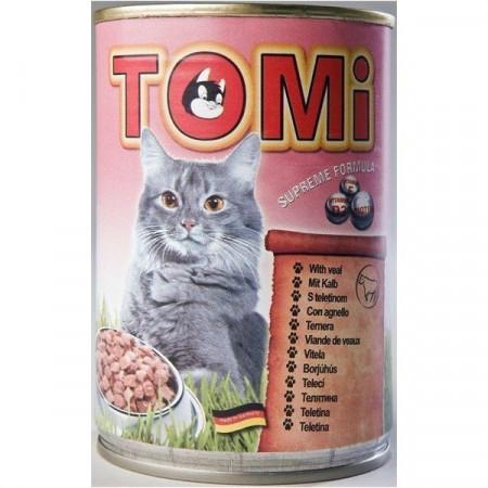 Tomi hrana za mačke teletina 400g ( TM43013 )