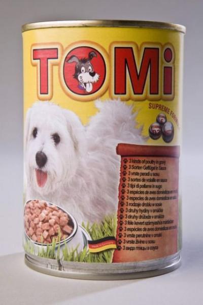 Tomi hrana za pse tri vrste živine 400g ( TM43015 )