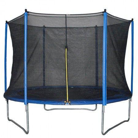 Slika Trambolina + sigurnosna mreža set 244 cm