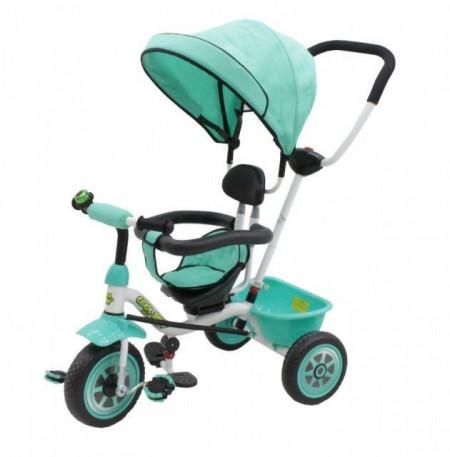 Slika Capriolo Cool Baby Tricikl sa rotirajućim sedištem - zeleni ( 290096 )