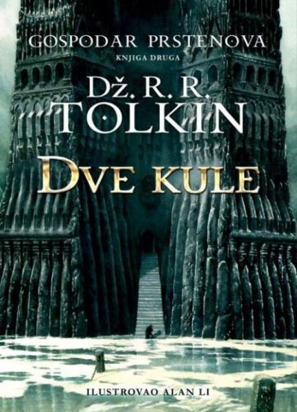 Slika DVE KULE - Dž.R.R.TOLKIN - II knjiga - tvrd povez ( R0046 )
