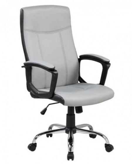 Slika Kancelarijska fotelja 9327 od eko kože - Siva ( 755-981 )