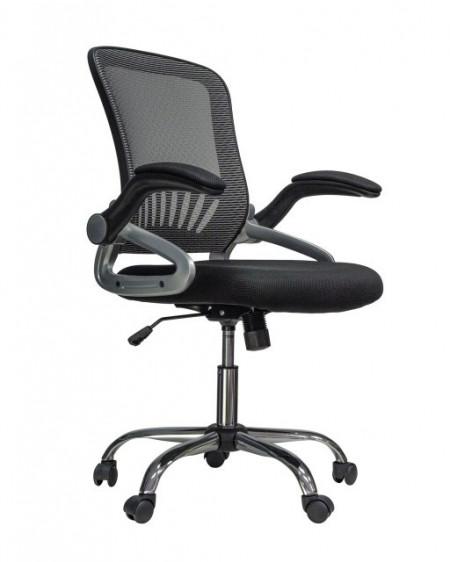 Slika Kancelarijska stolica CRISS od mesh platna - Crna