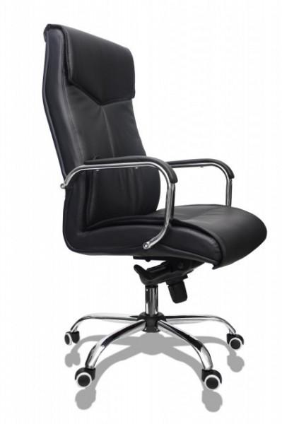 Slika Kancelarijska stolica FA-3001 od eko kože - Crna