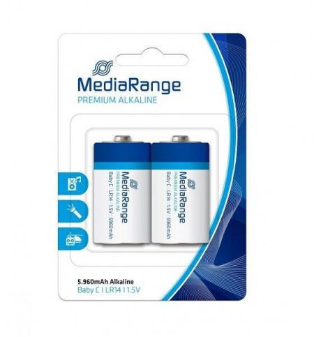 Slika MediaRange C-LR14 alkalne baterije 1.5V baby MRBAT108 ( LR14MR/Z )